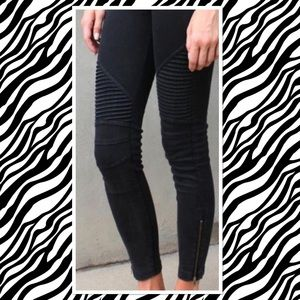 New Black PS Moto legging